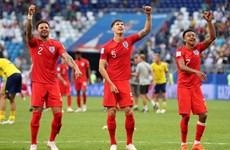 [Photo] Hạ gục Thụy Điển, đội tuyển Anh giành vé vào bán kết
