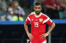 Alexander Samedov chia tay tuyển Nga sau thất bại trước Croatia