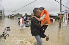 Nhật Bản dốc toàn lực tìm kiếm và cứu hộ các nạn nhân do mưa lũ