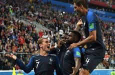Đánh bại Bỉ, đội tuyển Pháp thẳng tiến chung kết World Cup 2018