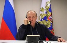 Tổng thống Nga chúc mừng Pháp sau chiến thắng trước tuyển Bỉ
