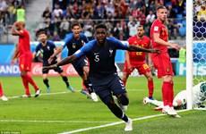 Cận cảnh đội tuyển Pháp đánh bại Bỉ, giành vé vào chung kết