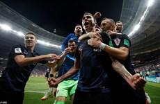 Ngược dòng đánh bại Anh, tuyển Croatia lần đầu vào chung kết