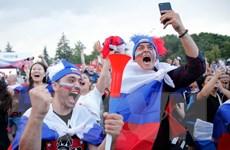 World Cup 2018: Nước Nga, khi sự cuồng nhiệt bóng đá đi qua