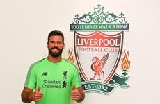 Hình ảnh thủ thành đắt giá nhất thế giới của CLB Liverpool