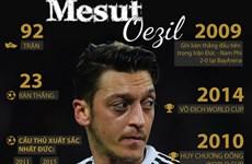 Những cột mốc đáng nhớ của Oezil trong màu áo đội tuyển Đức