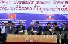 Công bố tác phẩm Hồ Chí Minh toàn tập các cuốn 2, 4 và 6 tiếng Lào