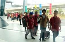 Indonesia trao trả 42 ngư dân Việt Nam qua đường hàng không