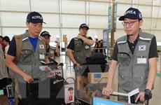 Đội cứu trợ Hàn Quốc sang Lào giúp khắc phục hậu quả sau vụ vỡ đập