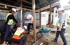 Vỡ đập ở Lào: Công ty Hàn Quốc SK E&C xây nhà tạm cho người dân