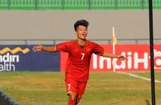 Thắng đậm Timor Leste, U16 Việt Nam tạm chiếm ngôi đầu bảng