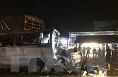 Video hiện trường vụ tai nạn ở Đồng Nai khiến 12 người thương vong