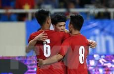 Cận cảnh U23 Việt Nam đánh bại U23 Palestine ở trận ra quân