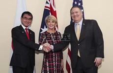 Ngoại trưởng Nhật Bản, Mỹ và Australia tiến hành cuộc họp 3 bên