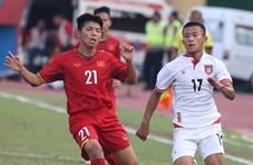 U16 Việt Nam vs U16 Myanmar 2-2: Rượt đuổi tỷ số căng thẳng