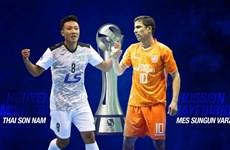 Link xem trực tiếp chung kết Thái Sơn Nam vs Mes Sungun Varzaghan