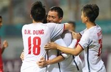 Cận cảnh Olympic Việt Nam hạ Olympic Nepal, giành vé vào vòng 1/8