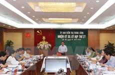 Ủy ban Kiểm tra các cấp kỷ luật 283 đảng viên trong tháng 7
