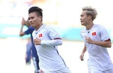 Cận cảnh Quang Hải ghi bàn, Olympic Việt Nam hạ Olympic Nhật Bản