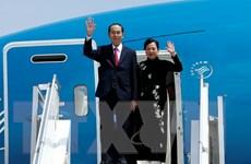 Chủ tịch nước Trần Đại Quang bắt đầu thăm cấp Nhà nước đến Ethiopia