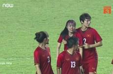 """Đội tuyển nữ Việt Nam dừng bước trước Đài Loan sau loạt """"đấu súng"""""""