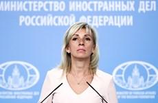 Nga: Lệnh trừng phạt mới của Mỹ sẽ chỉ khiến thêm căng thẳng