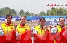 Hành trình truân chuyên của các cô gái vàng Rowing Việt Nam ở ASIAD