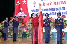 Chủ tịch Quốc hội dự Lễ kỷ niệm Ngày truyền thống Cảnh sát biển