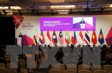 Khai mạc Hội nghị Bộ trưởng Kinh tế ASEAN lần thứ 50 tại Singapore