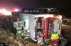 48 người thương vong trong vụ tai nạn xe khách ở vùng núi Andes