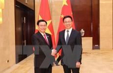 Phó Thủ tướng hội đàm với Phó Thủ tướng Quốc Vụ viện Trung Quốc