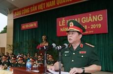 Học viện Chính trị thuộc Bộ Quốc phòng khai giảng năm học mới