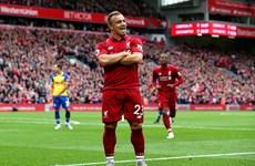 Premier League: Liverpool nối dài mạch thắng, M.U gây thất vọng