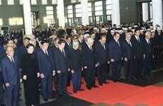 [Video] Cử hành trọng thể lễ tang Chủ tịch nước Trần Đại Quang