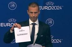 Đức chính thức giành quyền đăng cai vòng chung kết EURO 2024