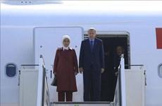 Tổng thống Thổ Nhĩ Kỳ bắt đầu chuyến thăm chính thức Đức