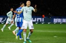 Bayern Munich thua sốc Hertha Berlin, sắp mất ngôi đầu Bundesliga