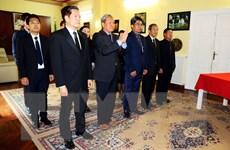 Lễ viếng nguyên Tổng Bí thư Đỗ Mười ở Nam Phi, Italy, Hà Lan và Chile