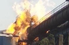 Nhiều người thương vong trong vụ nổ ở nhà máy thép tại Ấn Độ