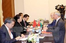 Chủ tịch Quốc hội hội kiến Chủ tịch Hạ viện Cộng hòa Belarus