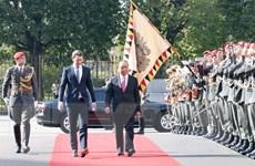 Lễ đón chính thức Thủ tướng Nguyễn Xuân Phúc thăm Cộng hòa Áo
