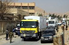 Syria cho phép LHQ chuyển hàng viện trợ đến khu biên giới với Jordan