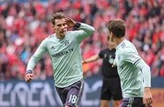 Bundesliga: Bayern Munich trở lại tốp 2, Dortmund đứt mạch thắng