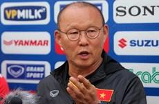 HLV Park Hang-seo: Mỗi trận đấu của Việt Nam đều là trận chung kết