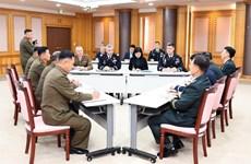 Hội đàm ba bên Hàn Quốc-Triều Tiên-Liên hợp quốc về giải giáp JSA