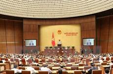 Kỳ họp thứ 6, Quốc hội khóa XIV: Cho ý kiến hai dự án Luật