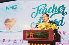 Tập đoàn Nguyễn Hoàng tổ chức Lễ tri ân và vinh danh Teacher Award