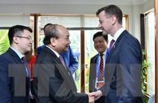 Thủ tướng Nguyễn Xuân Phúc tiếp Đoàn liên minh doanh nghiệp Hoa Kỳ