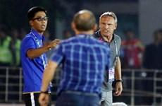 Ông Park nói gì khi bị HLV Myanmar chỉ trích 'thiếu chuyên nghiệp'?