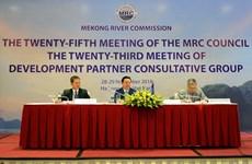 Phiên họp Hội đồng lần thứ 25 của Ủy hội sông Mekong quốc tế